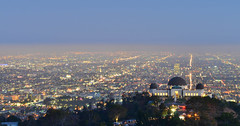 Friday Nights and Sunsets (jsrgomez) Tags: la los angeles hollywood griffith observatory travel nikon d7000 usa lowlightphotography california