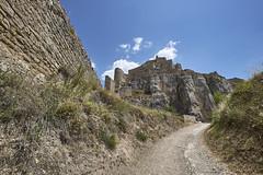 Castillo de Morella 3 (CarlosJ.R) Tags: espaa castillo castelln morella murallas