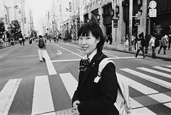 Shinjuku, Tokyo (fabiolug) Tags: girl crossing candidportrait portrait shinjuku people street streetphotography tokyo japan japanese asia leicamp leica mp rangefinder film filmphotography believeinfilm blackandwhite blackwhite bw kodaktrix400 trix400 kodak trix kodaktrix leicaelmarit28mmf28asph elmarit28mmf28asph elmarit28mm leicaelmarit28mm 28mm elmarit leicaelmarit wide wideangle