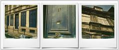 Le 37 ... (triptyque) (@necDOT) Tags: triptyque lille vieuxlille facade polaroid sx70 impossibleproject