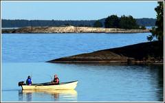 Lake Vnern, boats; Lago Vnern, barcos (Brje Trttne) Tags: vnern vrmland lakevnern sweden