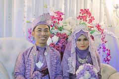Wedding of Hairie & Azlina (boyhafizy) Tags: wedding couple nikon edit lightroom colouring colourtone malaysiawedding weddingphotographer portrait portraiture weddingportraiture bestofwedding love
