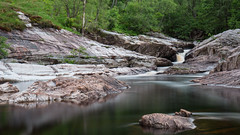River Leven (Francis Mansell) Tags: water river riverleven longexposure outdoor scotland scottishhighlands rock