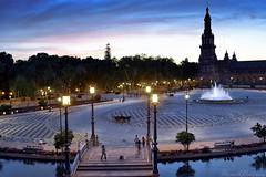 Plaza de Espaa (Biolchini) Tags: spain espanha plazadeespana plazadeespaa sevilla seville sevilha marcelobiolchini 2016