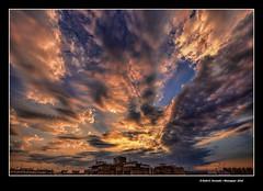 Alba urbana 41 (Urban sunrise 41) (Rafel Ferrandis) Tags: alba algemes balc hdr eos5dmkii ef1124mml