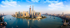 Shanghai skyline (Patrick Foto ;)) Tags: abstract aerial architecture asia background building business center china chinese city cityscape construction corporate destination downtown dusk finance financial high holiday huangpu journey landmark metropolitan modern office oriental panorama panoramic pearl pudong river scene shanghai ship sky skyline skyscraper tourism tower travel urban view water waterfront world shanghaishi cn