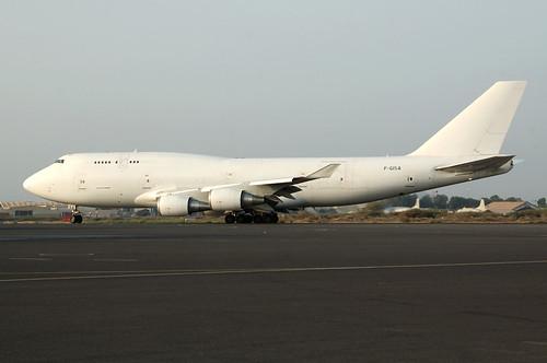 Boeing 747-428M (BCF)  F-GISA