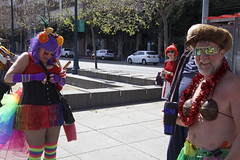 Adjustments Must Be Made (Generik11) Tags: sf costumes people music signs art comedy politics religion humor parade sfist aprilfoolsday ststupidsday firstchurchofthelastlaugh 04012015