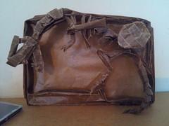 Dinosaur Skeleton (l0lm4tt) Tags: paper skeleton origami dinosaur minh kraft nguyen duc