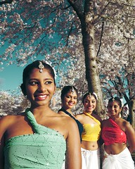 Sri Lanka Dancers (pablo.raw) Tags: mall cherry dc washington fuji dancers blossom basin sri lanka national tidal xt1