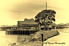 2015_03_12 The old Ford Plant (Walt Barnes) Tags: canon eos richmond calif topaz sanpablobay 60d canoneos60d topazadjust eos60d topazblackwhiteeffects wdbones99