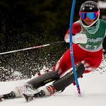 BC Team's Stefi Fleckenstein foreruns Fidelity Apex Can Am Slalom PHOTO CREDIT: Derek Trussler