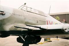 Hurricane MkIIc PZ865 BBMF. BBMF 50TH Duxford 05-05-07 (Richard.Crockett 64) Tags: fighter hurricane airshow ww2 duxford 50th cambridgeshire raf hawker 2007 mkii worldwartwo imperialwarmuseum royalairforce battleofbritainmemorialflight bbmf pz865