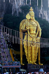 5464 Statue of Lord Murugan--Batu Caves , Malaysia (ngchongkin) Tags: harmony malaysia soe magiceye batucaves fairplay giveme5 musictomyeyes autofocus friendsforever finegold greatphotographers clapclap thegalaxy lordmurugan frameit vivalavida flickraward flickrbronzeaward heartawards diamondstars betterthangood simplysuperb goldstaraward earthasia flickrestrellas thebestofday gnneniyisi thebestshot highqualityimages thebestshots artofimages angelawards thebestvisions worldofdetails visionaryartsgallery discoveryaward flickrunitedaward youandtheworld wonderfulasia primephotos buildyourrainbow blinkagain photographyforrecreation framebangladesh theredgroup theyellowgroup administrationexquisite niceasitgets followmemyfriends thelooklevel1red thelooklevel2yellow niceasitgetslevel2 vpul01 infinitexposure