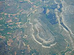Vista area de Pea Amaya (dlmanrg) Tags: espaa burgos historia cantabria amaya fotoaerea cntabros peaamaya