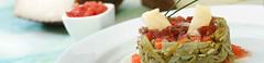 Nido de judas verdes (Queso Manchego Artesano) Tags: tomate jamon recetas quesos judias vinagreta