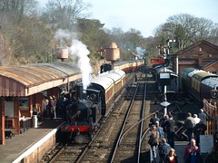 One in, one out (qwertyberty45) Tags: severnvalleyrailway bewdley