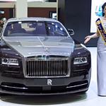 Rolls-Royce Phantom with sexy presenter at the 36th Bangkok International Motor Show thumbnail