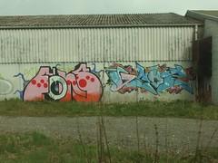 FNS . GEOZ (mkorsakov) Tags: wall graffiti wand bahnhof colored piece bf bunt werne fns geoz