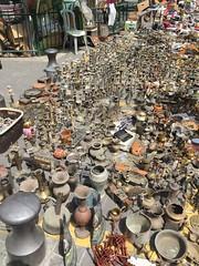 Jaffa flea market (olgapepe) Tags: street israel calle telaviv nikon market outdoor jaffa copper lamps flea cobre vases mercadillo lamparas candelabros jarrones candelabras d7000