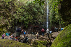 25 Springs (and 50 tourists) (Peter J Dean) Tags: family holiday portugal water waterfall walk tourists april pt madeira levada 2015 rabacal canonef1635mmf28liiusm canoneos5dmarkiii madeiraexplorers 25springs