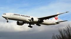 JAL Japan Airlines Boeing 777-346ER JA743J (Mark 1991) Tags: london heathrow boeing 777 jal lhr heathrowairport japanairlines londonheathrow 777300 777300er ja743j