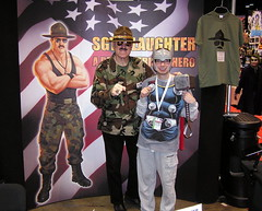 Me with Hall of Fame Wrestler Sgt. Slaughter (Vinny Gragg) Tags: costumes signs chicago celebrity sign comics dc costume illinois cosplay wrestling comicbook superhero comicbooks joker halloffame wrestler dccomics superheroes thor marvel comiccon marvelcomics wwe avengers hof villian asgard villians chicagoillinois marveluniverse avenger mccormickplace themightythor worldwrestlingentertainment thejoker sgtslaughter supervillian c2e2 asgardian godofthunder supervillians mightyavengers sargentslaughter wwehalloffame chicagocomiccon chicagocomicentertainmentexpo comiccon2015
