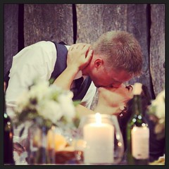 #firstkiss #reception #dananddanicagethitched (Omega Man) Tags: reception firstkiss uploaded:by=flickstagram instagram:photo=565390149702839867220698 instagram:venuename=steinbachmennonitemuseum instagram:venue=152722002 dananddanicagethitched