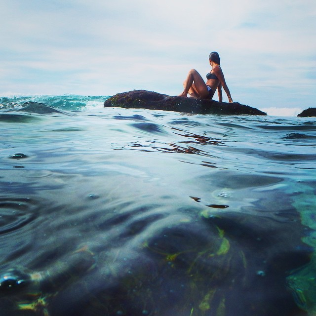MEL the mermaid #bronte #beach #mermaid #swim #rocks