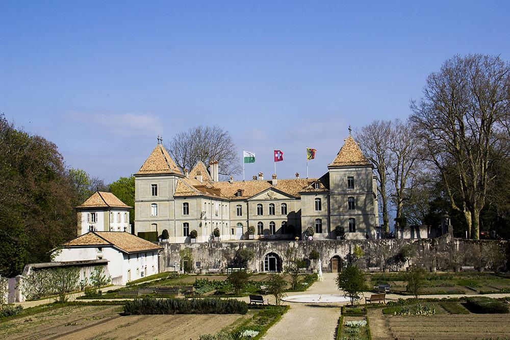 Château de Prangins - Château et jardin