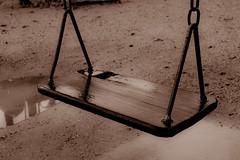 Swing (rafa_f_oliveira) Tags: park school sunset wet rain playground sunrise kid dry swing blumenau