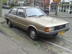 Audi 80 1.3 C 1984 (LR-11-HB) (MilanWH) Tags: haarlem c 1984 audi 13 80 2d lr11hb