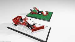 belos_02 (pehter aka ibbe) Tags: tractor lego gravely mocs lawnmover belos