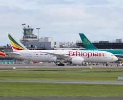 "Ethiopian Airlines                                 Boeing 787  ""Dreamliner""                              ET-ARE (Flame1958) Tags: travel vacation holiday airplane flying holidays flight aeroplane boeing dub airtravel dublinairport ethiopian 787 2016 0716 ethiopianairlines 1645 dreamliner travelbyair boeing787 eidw boeingdreamliner etare 160716 ethiopianb787"