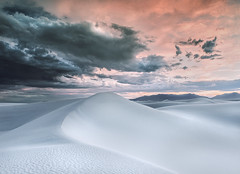 Encroaching (Appalachian Hiker) Tags: whitesands desert monsoon season thunderstorm sunset dunes