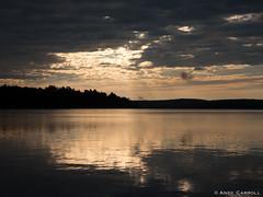 Morning at the lake (andyscamera) Tags: canada haliburtoncounty ontario andyscamera lake lakekennisis morning clouds sunrise