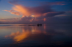 Crabbing early in the morning on the Indian river (Tedj1939) Tags: sunrise nature seascapes sun morning dawn clouds sky river predawn indianriver ocean
