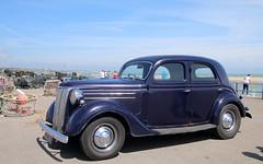 Ford Pilot V8 (jeannie debs) Tags: blue sky ford beach coast fishing nets pilot v8