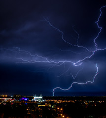 Every Which Way (mwjw) Tags: orlando florida lightning nikon24120mm buenavistapalace markwalter nikond800 mwjw disneysprings