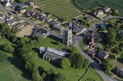 West Walton - St Mary's Church - Norfolk aerial image (John D F) Tags: church norfolk aerial aerialphotograph westwalton aerialimage