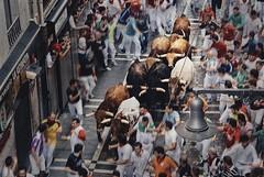 El Encierro (Zearil) Tags: nikon fiesta toros pamplona tradicin sanfermn encierro sanfermines d7100