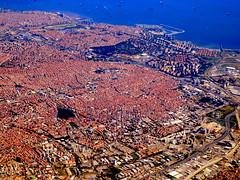 Istanbul - red roof city (oobwoodman) Tags: turkey trkiye istanbul aerial turquie trkei luftaufnahme aerien seaofmarmara