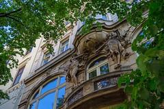DSC_1023 (mkk3a) Tags: architektura czechy praga prague praha kamienica secesja art nouveau