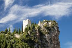 Arco castle ruins near Garda lake (fabioresti) Tags: arcocastle castello ruins schloss gardalake lagodigarda gardasee sarcavalley