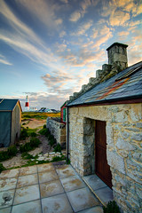 ''Home from Home'' (marcbryans) Tags: portlanddorset cottages stone sunsets beachhuts gable lighthouses clouds cafe portlandbill panorama wideangle tokina1116mm nikond7100 dwellings outdoors
