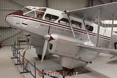 DEHAVILLAND DH-89A RAPIDE G-AGSH (Gaz West) Tags: collection shuttleworth dehavilland rapide dh89a gagsh