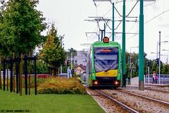 Solaris Tramino S105p #546 (ukasz Janowicz) Tags: solaris tramino s105p 546 pozna mpkpozna grunwaldzka tramwaj tram linia15 linie15