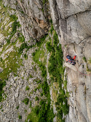 Vrkot(7), 4p, at Lofoten islands (Kuutti Heikkil) Tags: norway wall climbing lofoten norja silmarillion henningsvaer multipitch lofootit