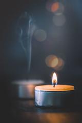 Light - Darkness (RoCafe) Tags: macro opposites light darkness candles bokeh nikkormicro105f28 nikond600 stilllife