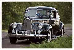 1941 /  Packard 120 (Ruud Onos) Tags: 1941 packard 120 am5010 1941packard120 packard120 nationale oldtimerdag lelystad nationaleoldtimerdaglelystad ruudonos oldtimerdaglelystad havhistorischeautomobielverenigingnederland